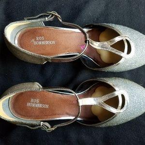"Ros Hommerson ""Heidi"" dress/dance shoes. Size 7WW."